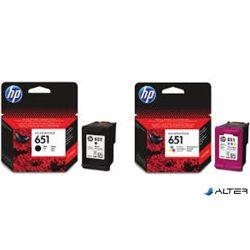 C2P11AE Tintapatron Deskjet Ink Advantage 5575 nyomtatóhoz, HP 651 színes, 300 oldal