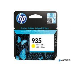 C2P22AE Tintapatron OfficeJet Pro 6830 nyomtatóhoz, HP 935 sárga, 400 oldal