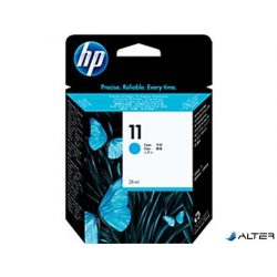 C4836AE Tintapatron Business InkJet 1000 sorozat, 2200 nyomtatókhoz, HP 11 kék, 28ml