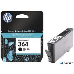 CB316EE Tintapatron Photosmart C5380, C6380, D5460 nyomtatókhoz, HP 364 fekete, 250 oldal
