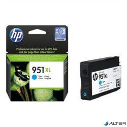 CN046AE Tintapatron OfficeJet Pro 8100 nyomtatóhoz, HP 951xl kék, 1,5k