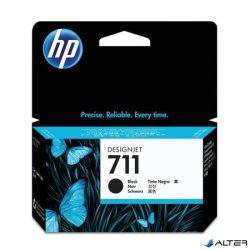 CZ129A Tintapatron, DesignJet T120, T520, nyomtatókhoz, HP 711, fekete, 38ml