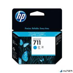 CZ130A Tintapatron DesignJet T120,T520 nyomtatókhoz, HP 711 kék, 29 ml