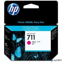 CZ131A Tintapatron DesignJet T120,T520 nyomtatókhoz, HP 711 vörös, 29 ml