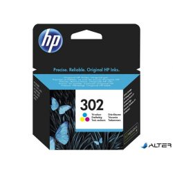F6U65AE Tintapatron DeskJet 2130 nyomtatókhoz, HP 302 színes, 4ml