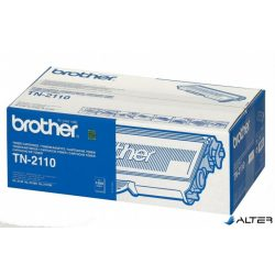 TN2110 Lézertoner HL 2140, 2150N, 2170W nyomtatókhoz, BROTHER fekete, 1,5k
