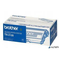 TN2120 Lézertoner HL 2140, 2150N, 2170W nyomtatókhoz, BROTHER fekete, 2,6k