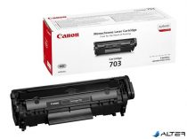 CRG-703B Lézertoner i-SENSYS LBP 2900, 3000 nyomtatókhoz, CANON fekete, 2k