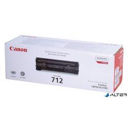CRG-712 Lézertoner i-SENSYS LBP 3010, 3100 nyomtatókhoz, CANON fekete 1,5k