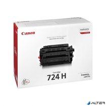 CRG-724H Lézertoner i-SENSYS LBP 6750DN nyomtatóhoz, CANON fekete, 12,5k