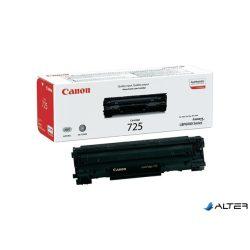 CRG-725 Lézertoner i-SENSYS LBP 6000 nyomtatóhoz, CANON fekete, 1,6k