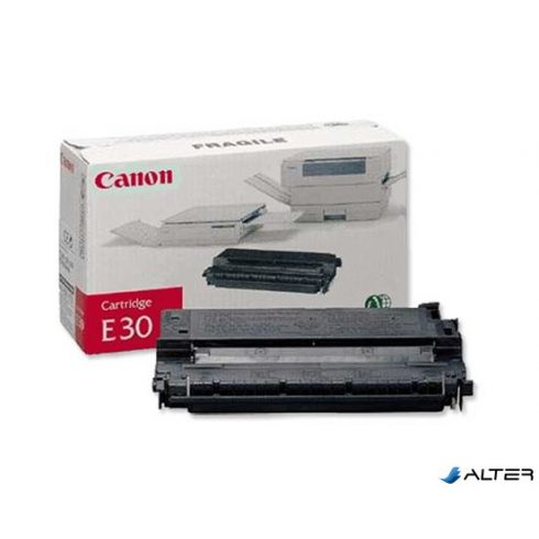 E30 Fénymásolótoner FC100, 120, 200 fénymásolókhoz, CANON fekete