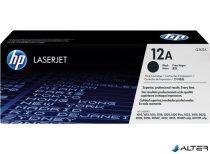 Q2612A Lézertoner LaserJet 1010, 1015, 1018 nyomtatókhoz, HP fekete, 2k