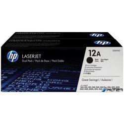 Q2612AD Lézertoner LaserJet 1010, 1015, 1018 nyomtatókhoz, HP fekete, 2*2k