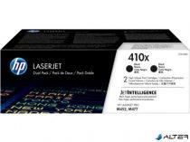 CF410XD Lézertoner Color LaserJet Pro M452, M477 nyomtatókhoz, HP, 410X, fekete, 2*6,5k