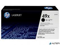 Q5949X Lézertoner LaserJet 1320, 3390, 3392 nyomtatókhoz, HP fekete, 6k