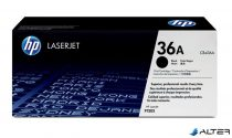 CB436A Lézertoner LaserJet P1505, 1505n, M1522 nyomtatókhoz, HP CB436A fekete, 2k