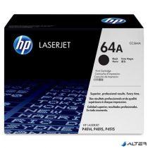 CC364A Lézertoner LaserJet P4014, P4014n nyomtatókhoz, HP fekete, 10k