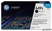 CE260X Lézertoner ColorLaserJet CP4525 nyomtatóhoz, HP 649X fekete, 17k