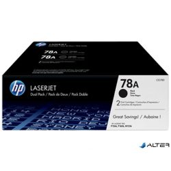 CE278AD Lézertoner LaserJet P1566, P1606 nyomtatókhoz, HP CE278AD fekete, 2*2,1k