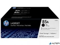 CE285AD Lézertoner LaserJet P1102 nyomtatóhoz, HP CE285AD fekete, 2*1,6k