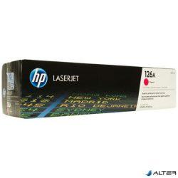 CE313A Lézertoner ColorLaserJet Pro CP1025 nyomtatóhoz, HP 126A vörös, 1k