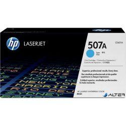CE401A Lézertoner LaserJet M551 nyomtatóhoz, HP 507A kék, 6k