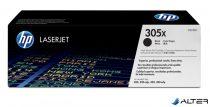 CE410X Lézertoner LaserJet Pro 300 MFP M375 nyomtatóhoz, HP 305X fekete, 4k