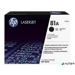 CF281A Lézertoner LaserJet Enterprise M604n, MFP M630f nyomtatókhoz, HP fekete, 10,5k