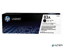 CF283A Lézertoner LaserJet Pro M125, M126, M127, M128 nyomtatókhoz, HP fekete, 1,5k