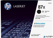 CF287X Lézertoner LaserJet M506, M527 nyomtatókhoz, HP 87X fekete, 18k