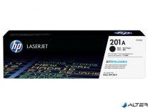 CF400A Lézertoner Color LaserJet Pro M252,M277 nyomtatóhoz, HP 201A fekete 1,5k