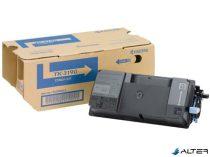 TK3190 Lézertoner P3055dn, P3060dn nyomtatókhoz, KYOCERA fekete, 25k