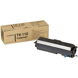 TK110 Lézertoner FS 720, 820, 920 nyomtatókhoz, KYOCERA fekete, 6k