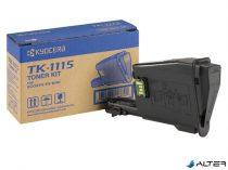TK1115 Lézertoner FS 1041 nyomtatókhoz, KYOCERA fekete, 1,6k