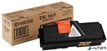 TK160 Lézertoner FS 1120D nyomtatóhoz, KYOCERA fekete, 2,5k