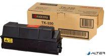TK330 Lézertoner FS 4000DN nyomtatóhoz, KYOCERA fekete, 20k