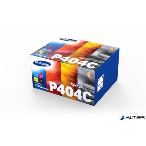 CLT-P404C Lézertoner multipack SL C430W, SL C480W nyomtatókhoz, SAMSUNG b+c+m+y 1,5k + 3x1k