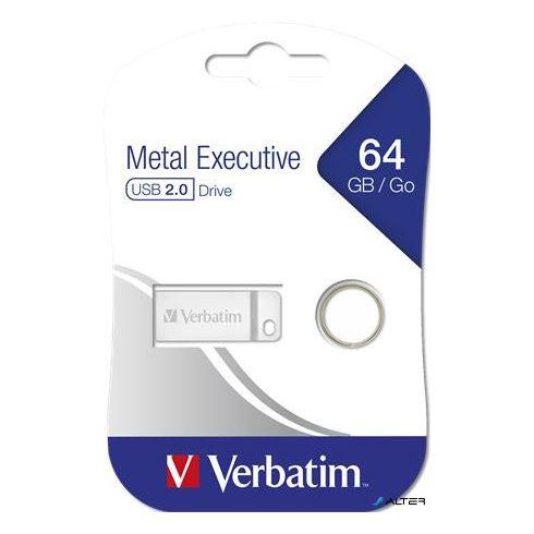 """Pendrive, 64GB, USB 2.0,  VERBATIM """"Exclusive Metal"""""""