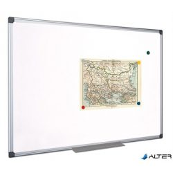 Fehértábla, mágneses, 45x60 cm, alumínium keret, VICTORIA
