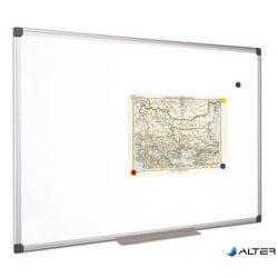 Fehértábla, mágneses, 100x100 cm, alumínium keret, VICTORIA