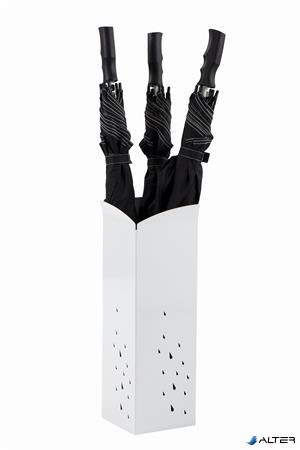 """Esernyőtartó, fém, ALBA """"Pure Line"""", fehér"""