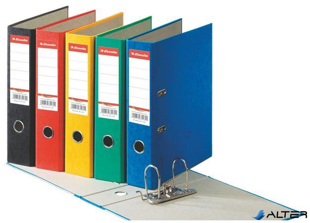 """Iratrendező, 75 mm, A4, karton, ESSELTE """"Rainbow"""", kék"""