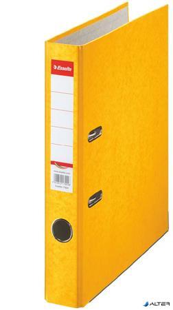 "Iratrendező, 50 mm, A4, karton, ESSELTE ""Rainbow"", sárga"